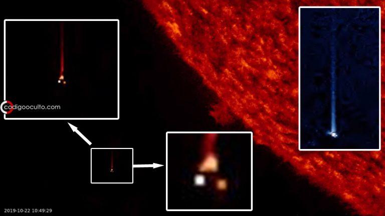 Objeto anómalo pasa cerca del Sol a enorme velocidad.... ¿un agujero de gusano?