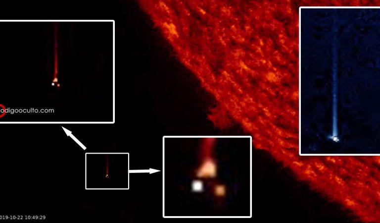 Objeto anómalo pasa cerca del Sol a enorme velocidad…. ¿un agujero de gusano?