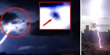 Objeto desconocido cae junto a un rayo en Salto (Uruguay)