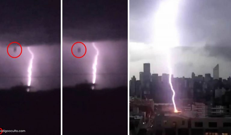 Vídeo: Objeto extraño cae del cielo durante tormenta en San Antonio (Texas)