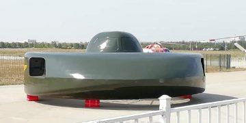 Platillo volador: presentan innovador helicóptero en China