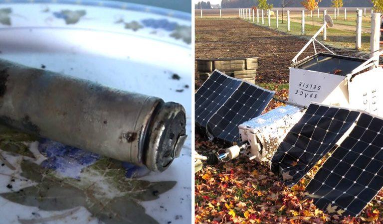 ¿Qué ocurre en el espacio? Dos objetos caen del cielo en Brasil y un satélite de Samsung cae en Michigan