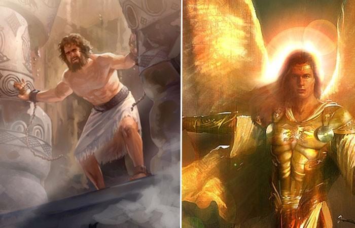 Sansón y un ángel