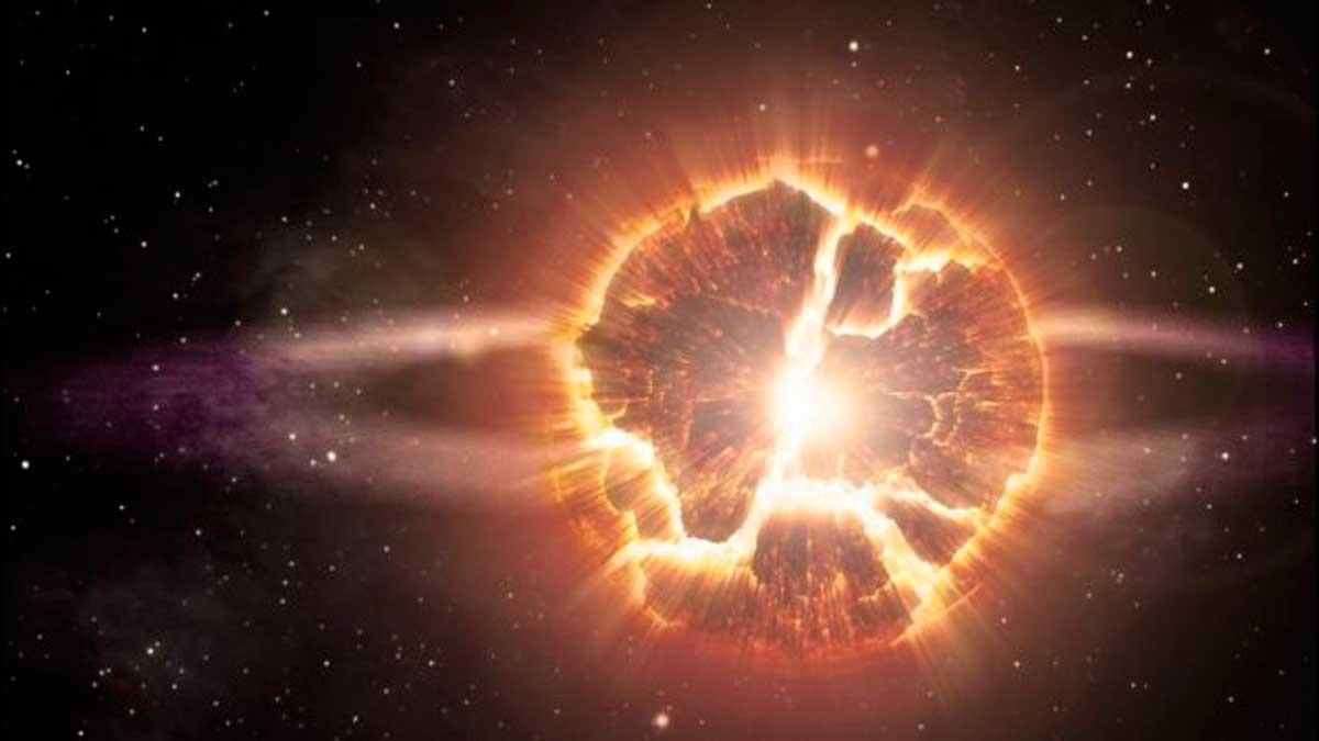 ¿Podría tratarse de una supernova?