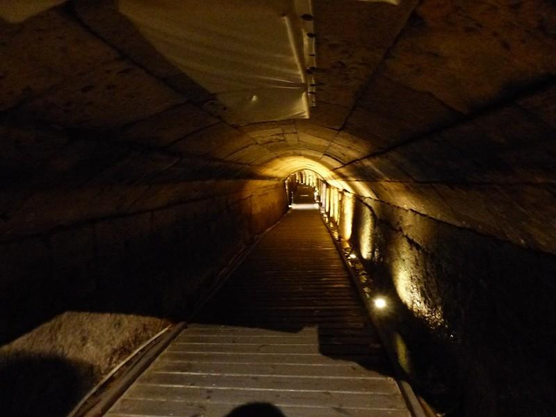 Túnel templario en Acre, Israel
