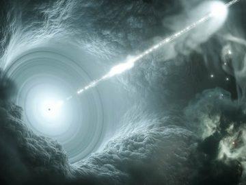 Velocidades más rápidas que la luz podrían causar que los rayos gamma retrocedan el tiempo