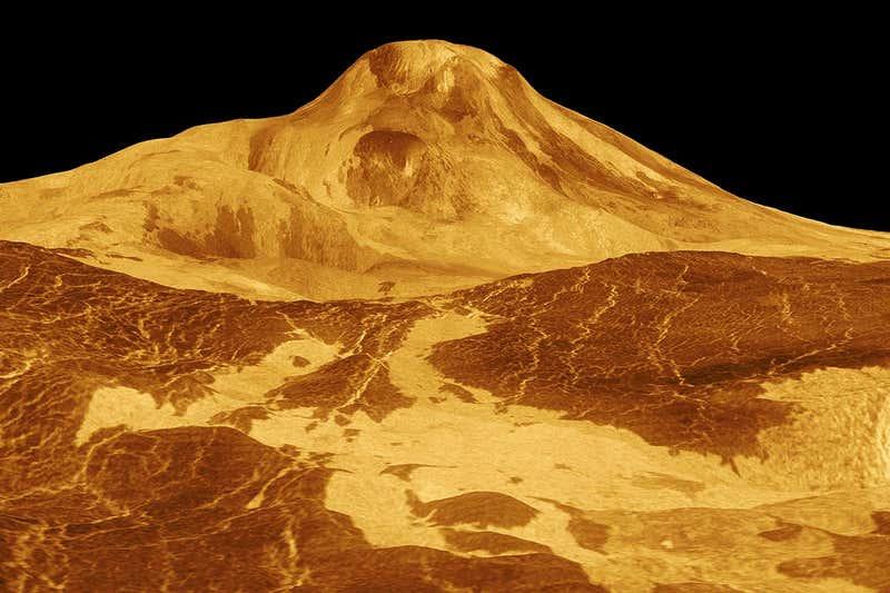 Una vista de Venus