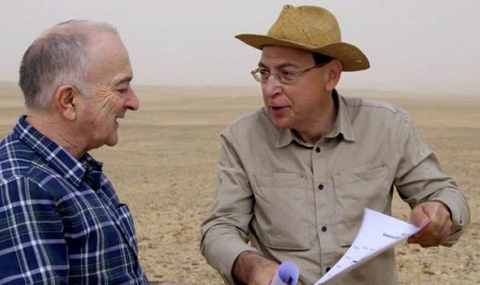 El Dr. Vasko Dobrev ha buscado una nueva pirámide en Egipto por muchos años