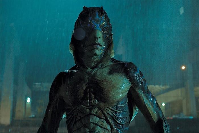 Hombre anfibio en la película La forma del agua