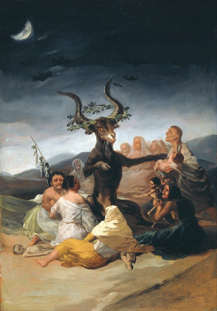 El Aquelarre, cuadro de Francisco Goya
