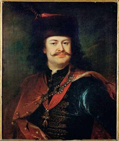 Ferenc Rákóczi II, padre de Saint Germain, y quién luchara por la independencia húngara.