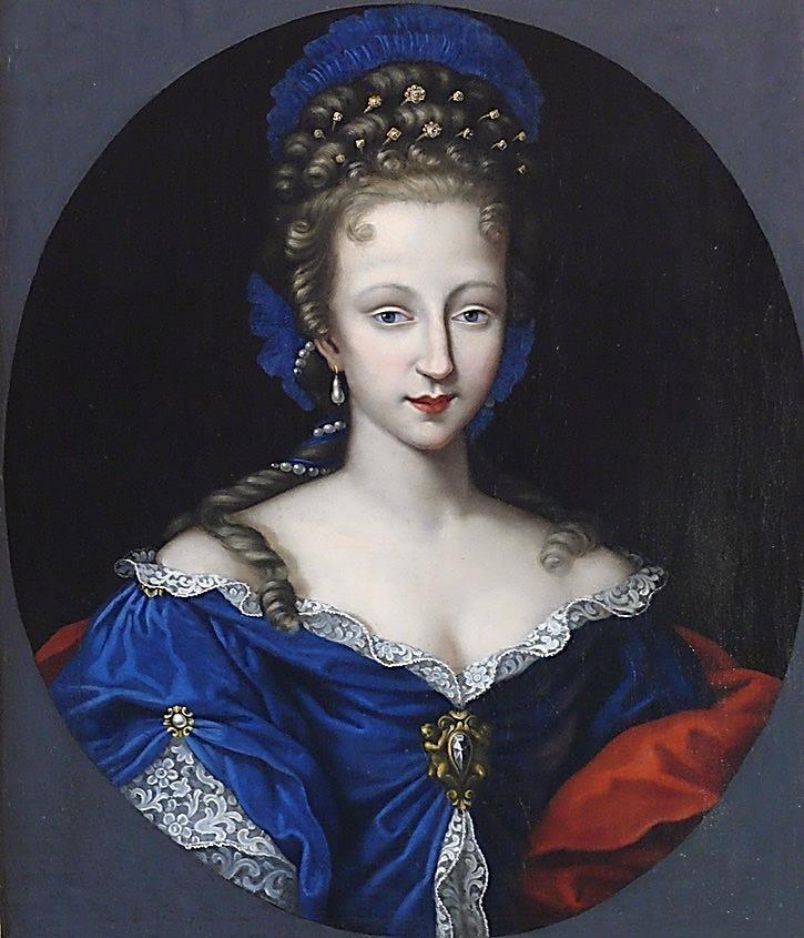 Bellísimo retrato de Violante-Bétarice de Baviera. ¿La verdadera madre de Saint Germain?