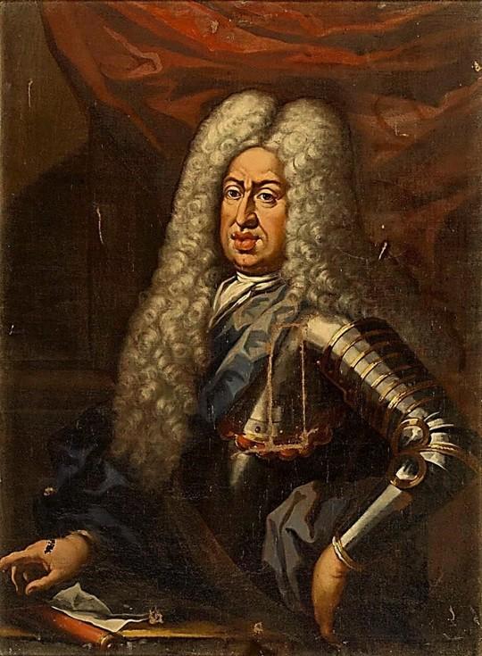 Retrato de Gian Gastone de Medici, Gran Duque de Toscana