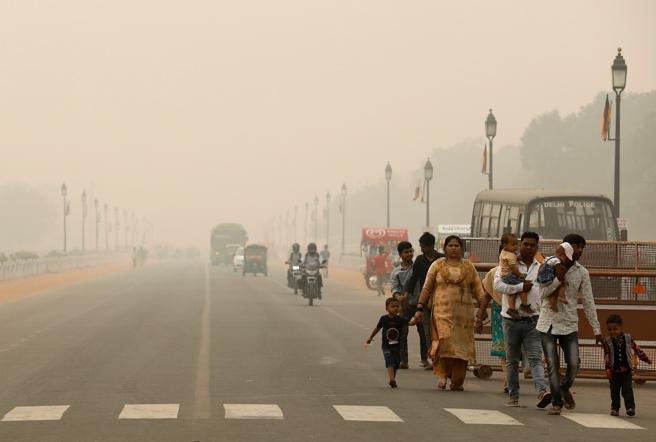La «pandemia» de la contaminación del aire causa anualmente casi 9 millones de muertes prematuras, halla estudio