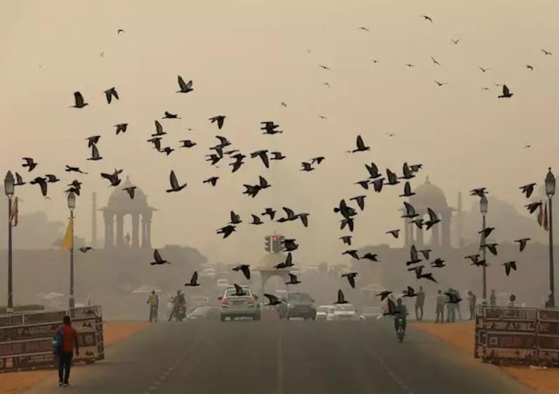Contaminación del aire en Nueva Delhi