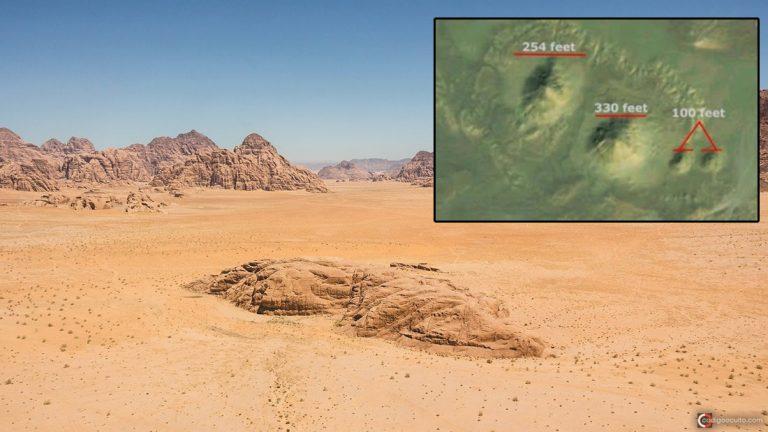Descubren una gran estructura bajo el desierto del Sahara ¿Una Pirámide?