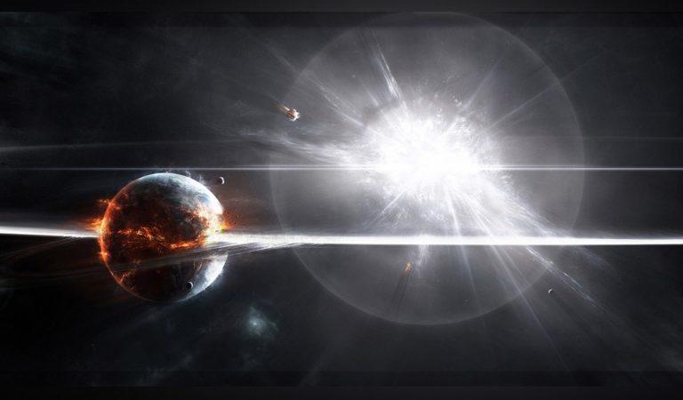Detectan un intenso estallido ocurrido en una galaxia cercana… ¿tecnología alienígena?