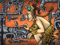 El astronauta de Palenque: el arte «alienígena» maya sobre la lápida de Pakal