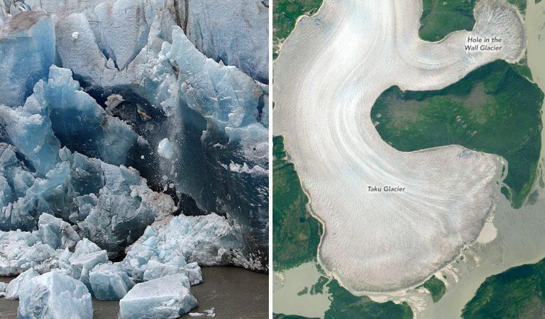 El glaciar más grueso del mundo se está derritiendo y el cambio climático es el culpable