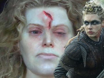 Este es el rostro de una doncella y guerrera vikinga