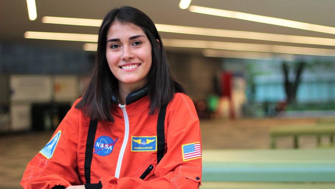Estefanía Oseguera Salazar, la joven mexicana en camino a ser astronauta