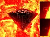 «Estructura gigantesca» se acerca y cruza el Sol ¿de qué se tratra? (vídeo)