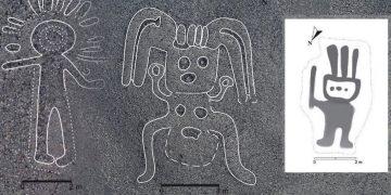 Hallan 143 nuevos geoglifos en las Líneas de Nasca: humanoides y animales extraños