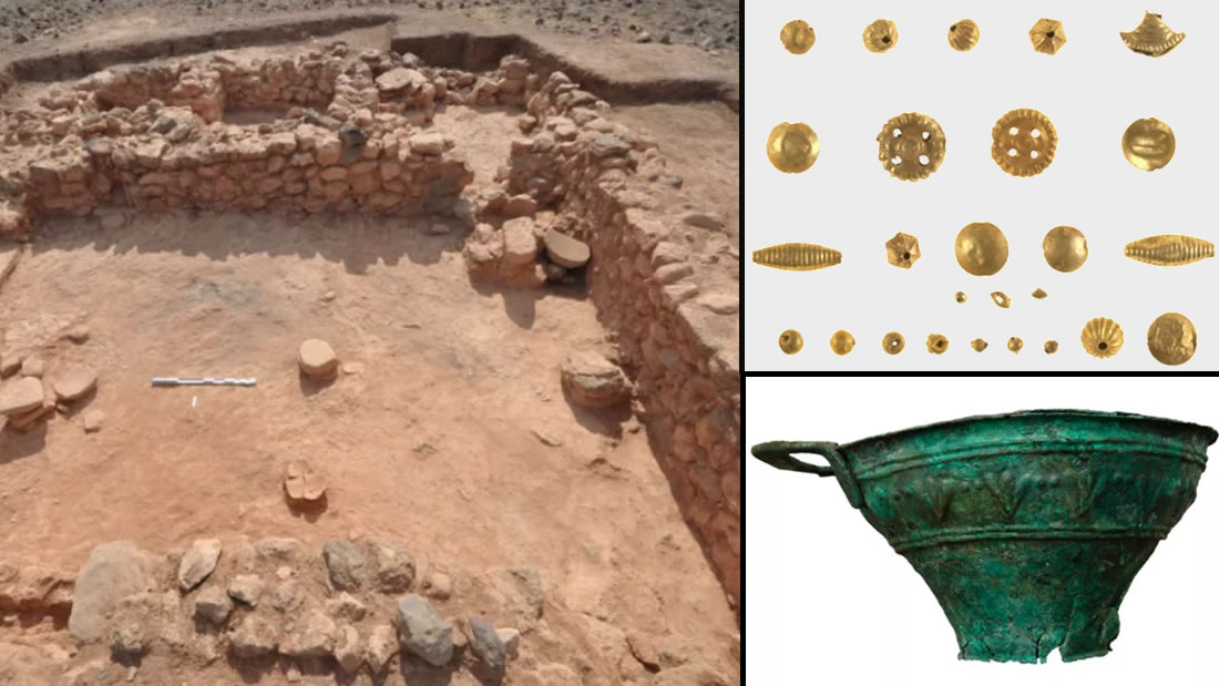 Hallan antiguo asentamiento griego con conchas color púrpura, joyas de oro y tanques de peces