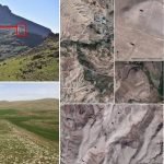 Hallan misteriosa muralla de 100 km de largo en Irán, pero no saben quién la construyó