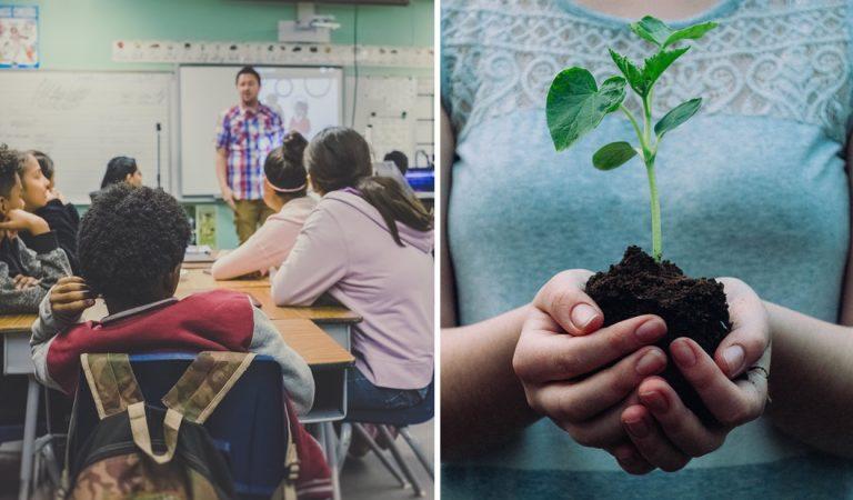 Italia obligará a las escuelas públicas a enseñar cursos del cambio climático