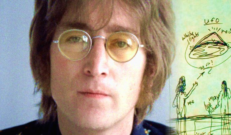 John Lennon «El beatle intergaláctico» y su encuentro cercano