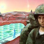 La historia del ex marine sobre gente llevada a Marte en la década del 70