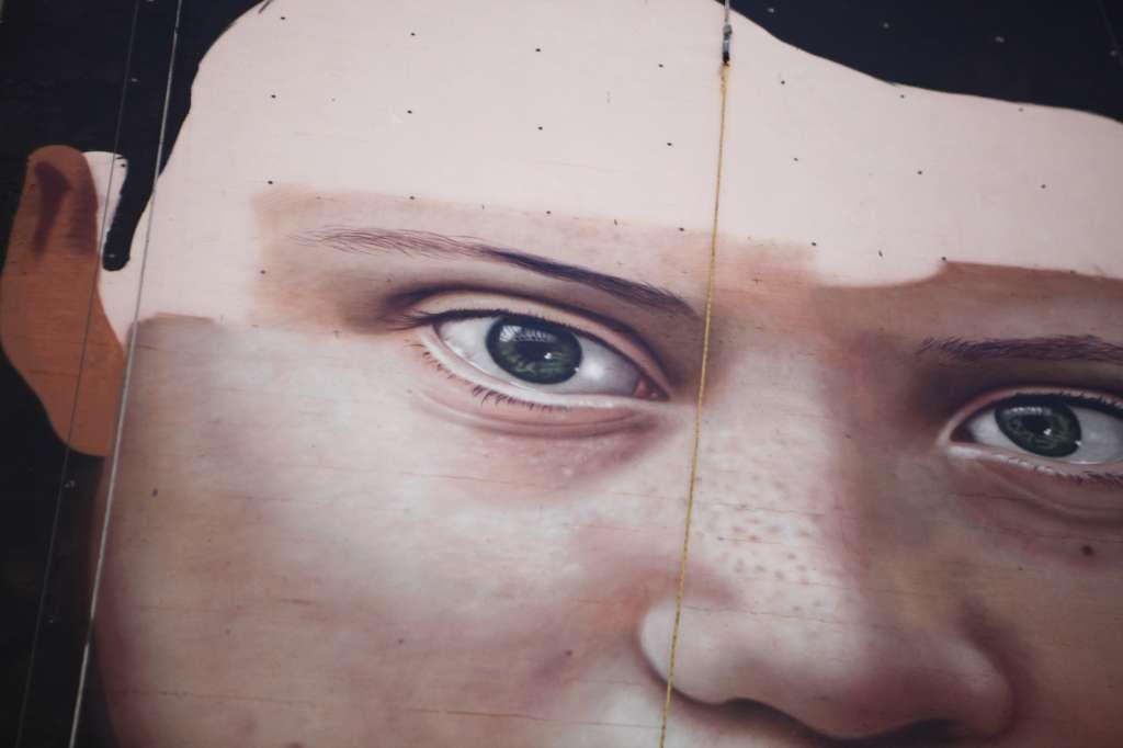 El mural de Greta Thunberg