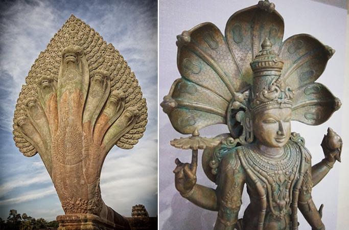 Estatuas de Nagas