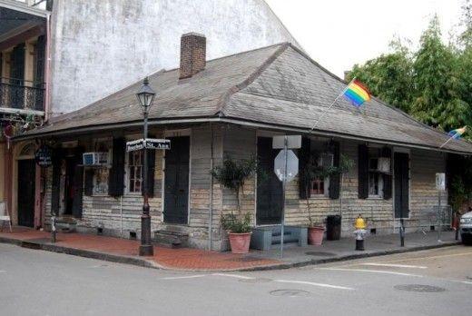 La casa de Marie Laveau en el barrio francés de New Orleans