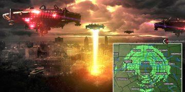 Se desata histeria por «invasión alienígena» en Texas: radar meteorológico capta círculos verdes sobre la ciudad
