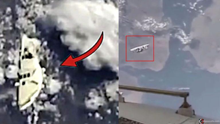 ¿Son los astronautas de la ISS observados por una nave de la «Fuerza Espacial»? (Vídeo)