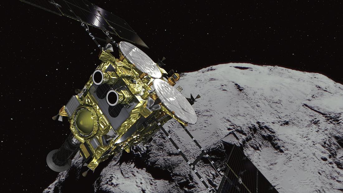 Sonda espacial japonesa está regresando a la Tierra con un pedazo de asteroide