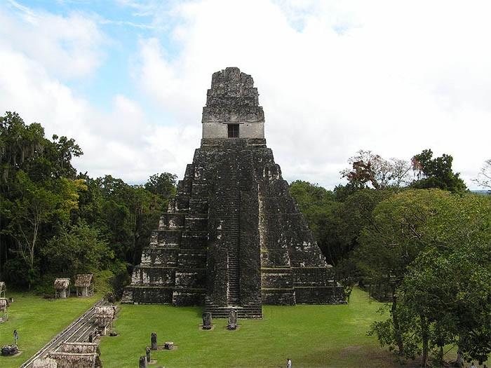 Templo del Jaguar en Tikal