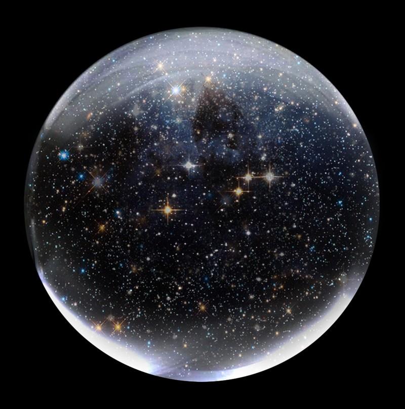 El Universo podría ser un bucle infinito como una esfera gigantesca