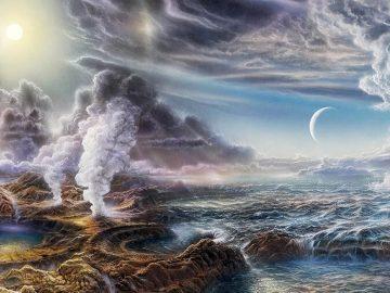 Vida en la Tierra se originó en respiraderos de aguas profundas y podría estar ocurriendo en mundos alienígenas, sugieren científicos