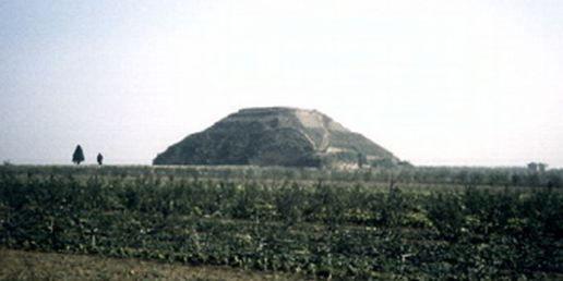 Hace 12.000 años, alienígenas usaron una pirámide en China como sitio de aterrizaje