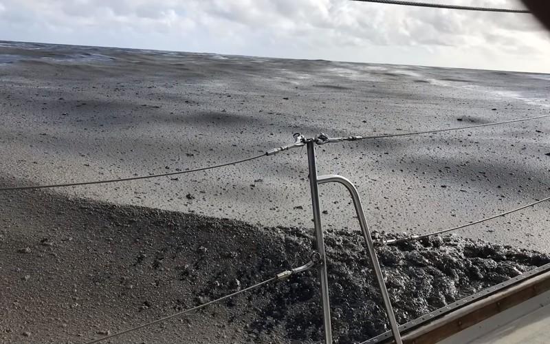 Un enorme estructura flota en el océano Pacífico rumbo a Australia y ahora los científicos han indicado su origen