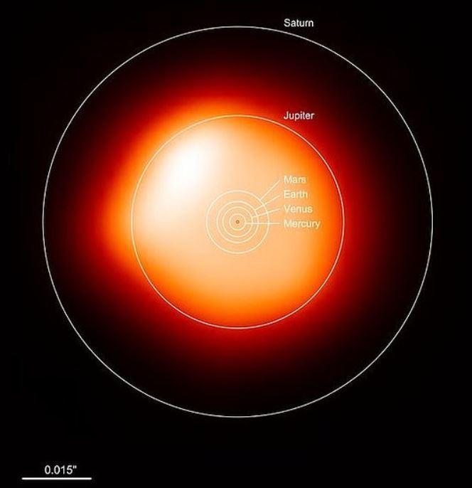 Estrella cercana y enorme podría explotar e iluminar el cielo como una luna llena