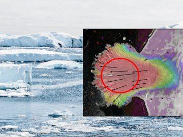 Capa de hielo del Ártico ruso está destrozándose causado por algo nunca antes visto
