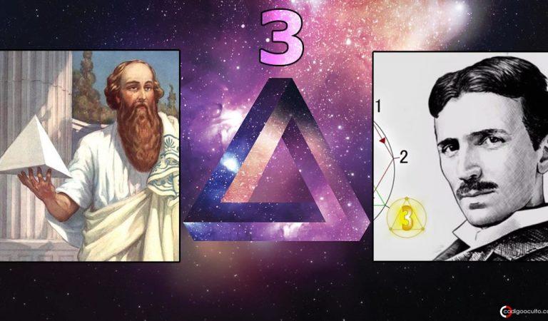El Código Oculto del Número 3 presente en la mitología y la matemática del universo