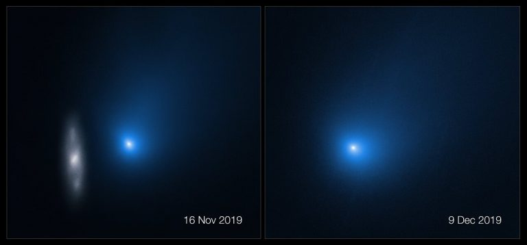 Objeto interestelar que se acercó al sistema solar se parte en dos y expulsa un fragmento