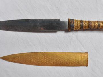 ¿Por qué la daga de Tutankamón poseía metal extraterrestre?