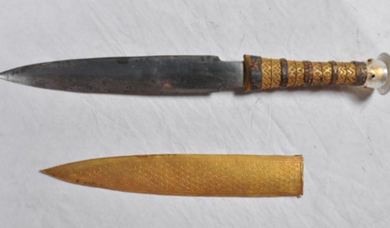 ¿Por qué la daga de Tutankamón fue forjada con metal extraterrestre?