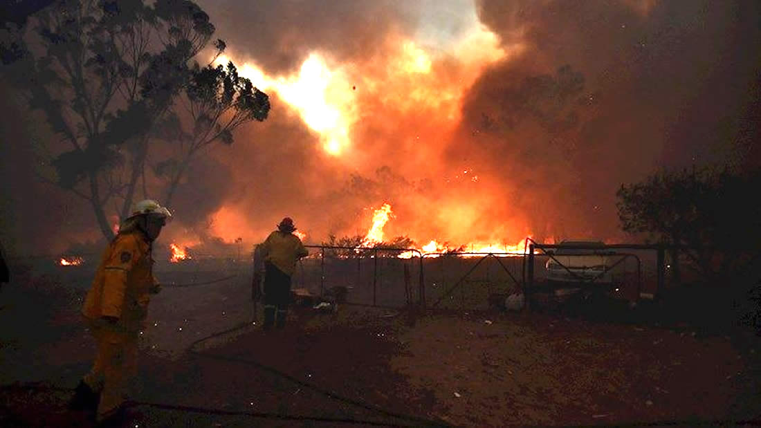 Australia: Declaran Estado de Emergencia por incendios y gases tóxicos